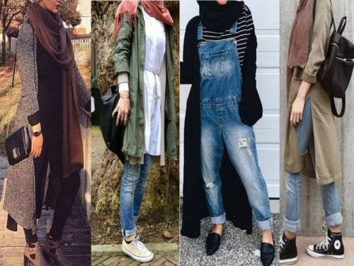 coats-and-cardigans-hijab-style- Hijab fashion gallery http://www.justtrendygirls.com/hijab-fashion-gallery/