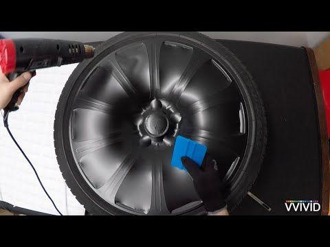 VVIVID Vinyl - How To Vinyl Wrap Car Rims - YouTube