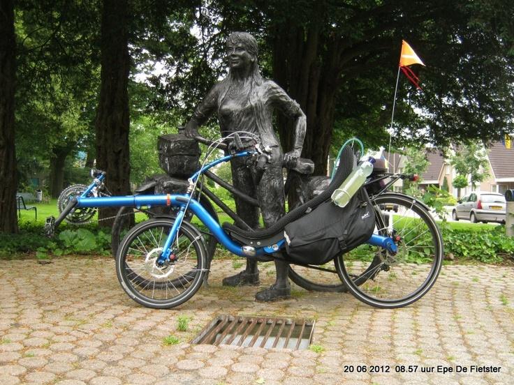 Epe , twee fietsen