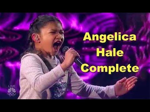 Angelica Hale's Journey on America's Got Talent from Auditions to Grand ...