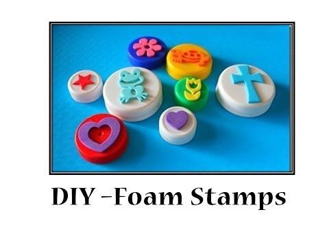 DIY - How to make Foam Stamps - YouTube