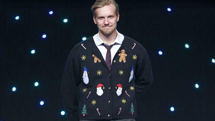Alexander Edler. Christmas sweater.