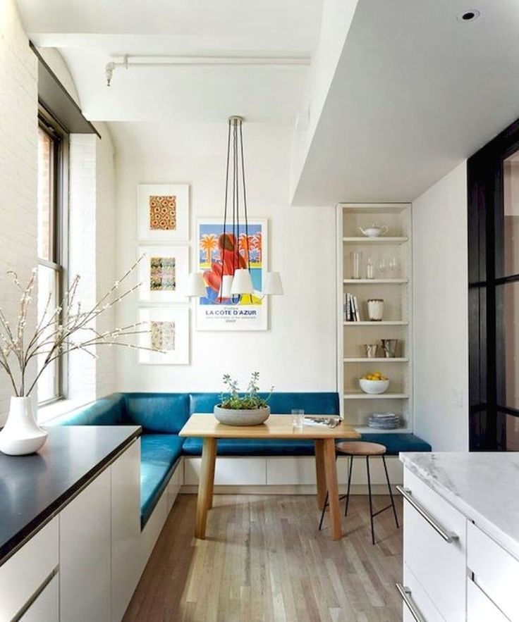 22 Nice Banquette Sitting Ideas for Kitchen - Lovelyving ...