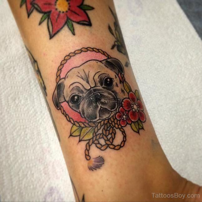 Dog Tattoos Tattoo Designs Tattoo Pictures Page 2 Pug Tattoo