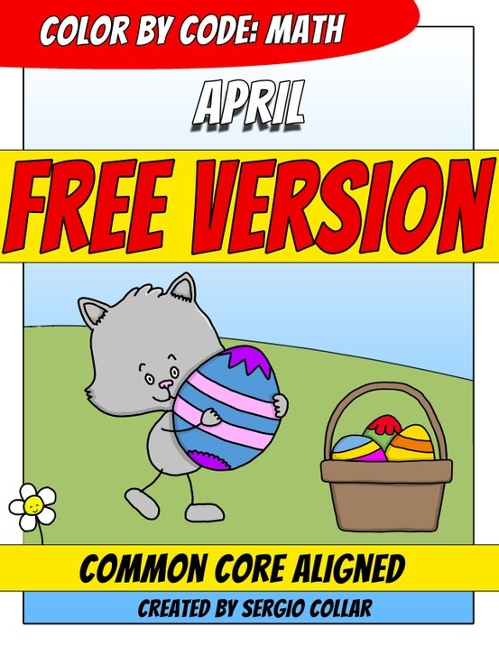 FREE Common Core worksheet - EASTER!