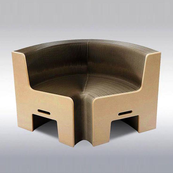 FlexibleLove Faltsofa aus Karton Earth 8 NEU/OVP Holz braun   eBay
