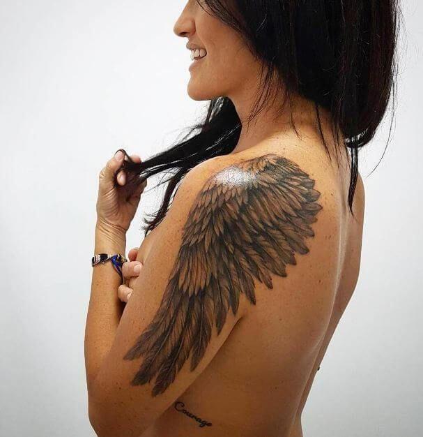 Angel Wings Tattoos 18 Tattoosonback Tatuaggio Schiena