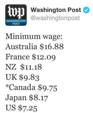 minimum wage. VOTE THE GOP OUT IN 2014!