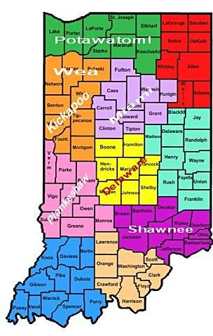 Miami Indians of Indiana | INDIANA INDIAN TRIBES