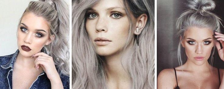 Le gris smoky : La coloration tendance de la rentrée