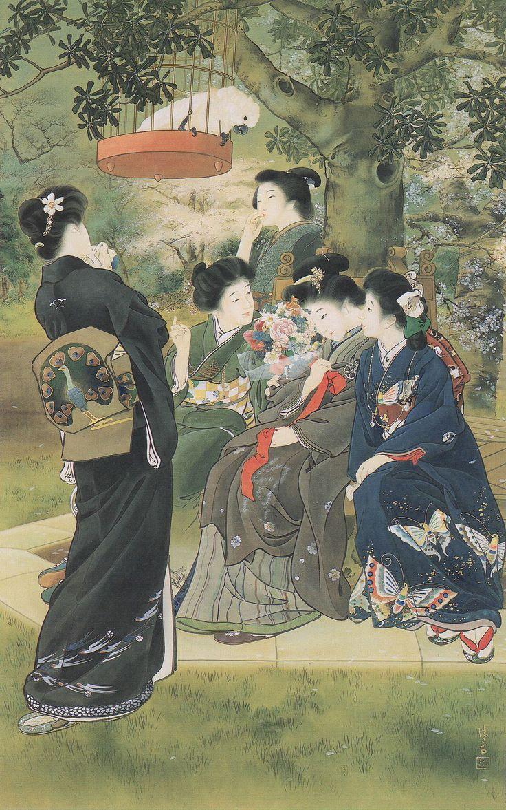 KABURAGI(KABURAKI) Kiyokata(鏑木 清方 Japanese, 1878-1972)  嫁ぐ人  1907