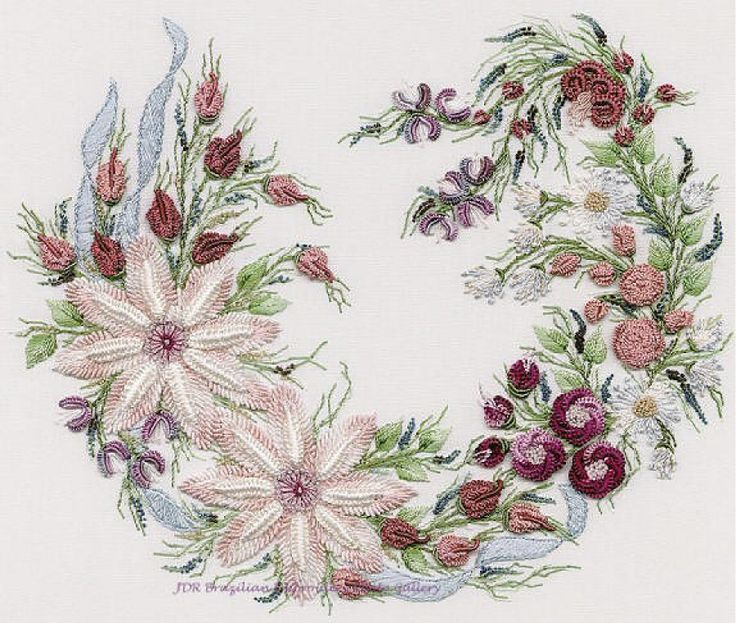 Best images about embroidery brazilian stumpwork