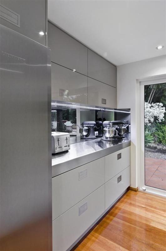 Butlers pantry scullery kitchen design Sophisticated Simplicity Defines Darren Jamess Kitchen Renovation