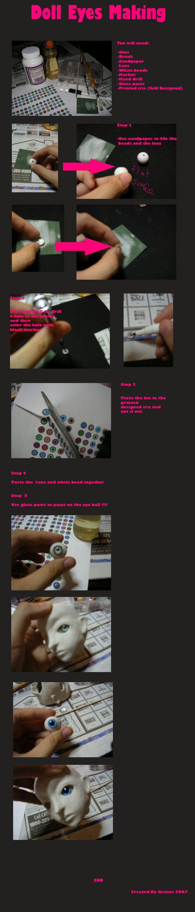 doll eye tutorial... by granet on DeviantArt