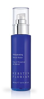 Rehydrating Neroli Water - this product smells dreamy and is a great mist to keep a mud facial moist