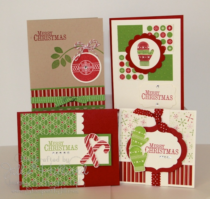 Jill's Card Creations: Chock Full of Cheer Card kit