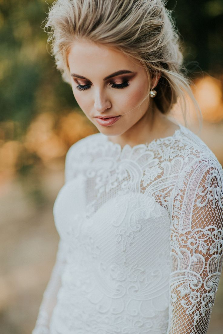Sunset Country Wedding Style - Polka Dot Bride | Photo by http://katedrennan.com/