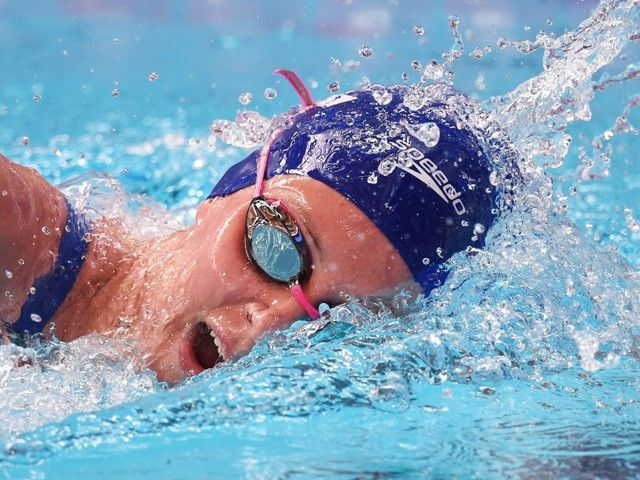 "Jazz Carlin ""gobsmacked"" by Olympic silver medal"