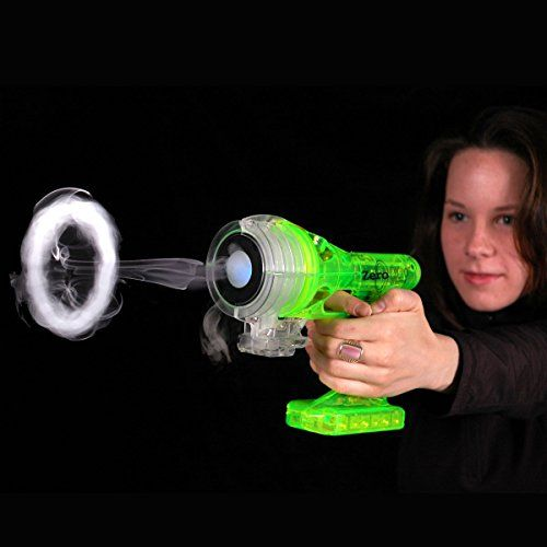 The Green Zero Fog Blaster - Blows Rings of Smoke!  #HottestToys Best Christmas Toys for 10 Year Old Boys