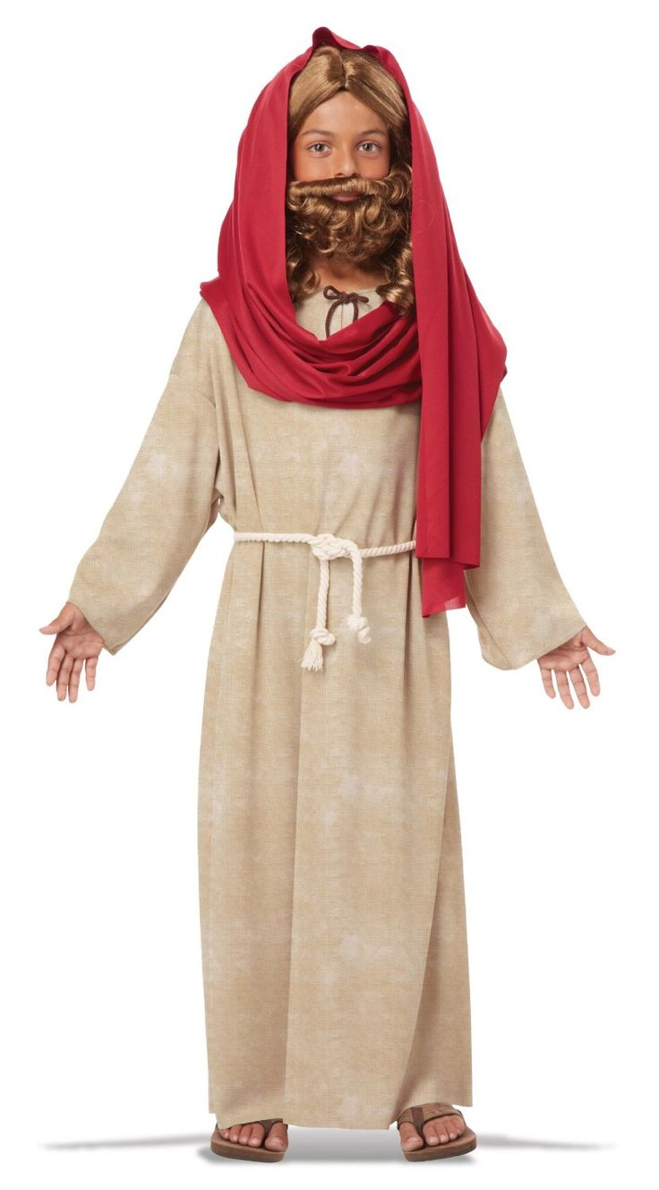 This Biblical Jesus Child Costume is perfect for Easter, Biblical character re-enactments, plays, Purim, Christmas etc.