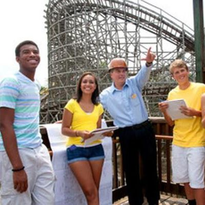 six flags one day admission