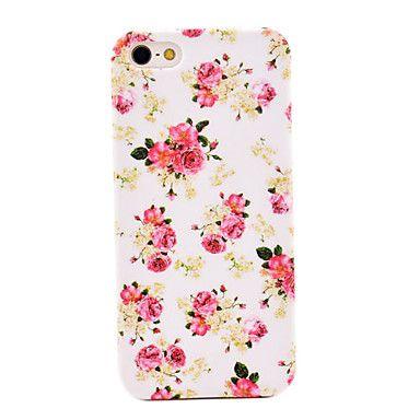 Peonías Pretty Caso duro de la cubierta del diseño de la flor para el iPhone 5/5S – EUR € 3.67