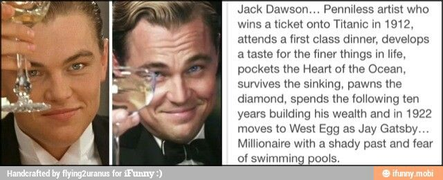Image result for jack and jay gatsby theory