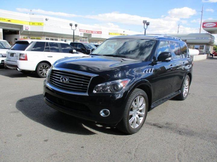 Beautiful black 2012 Infiniti QX56 4WD! Looking for a vehicle? Come see us at Auto House.   autoshouse.com