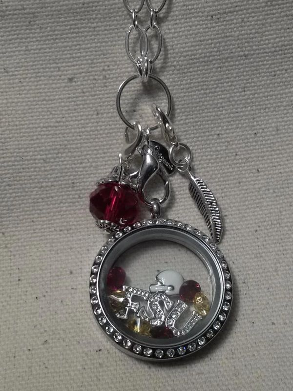 Florida State Seminoles Living Locket www.loribethakin.origamiowl.com