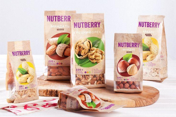 TheBestPackaging.ru – NUTBERRY – орехи, сухофрукты и смеси от Острова Свободы