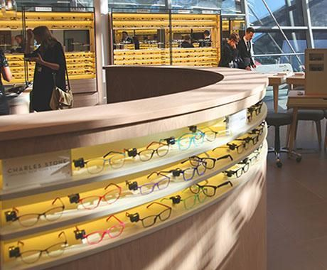 John Lewis Opticians – store concept designed by Household