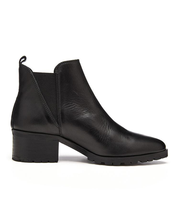 Kvinde Sko AMUST Caspa boot – Støvler – Sort