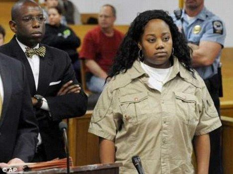 A mother who pleaded guilty to fraudulently enrolling her six-year-old son in the wrong school district has been sentenced to five years in prison.  Tonya McDowell sent her son to an elementary school in Norwalk, Connecticut, instead of her home city of Bridgeport.  The 34-year-old, who was homeless when she was charged with felony larceny last year, said she wanted the best education possible for the boy.    ARE YOU FREAKIN' KIDDING ME.