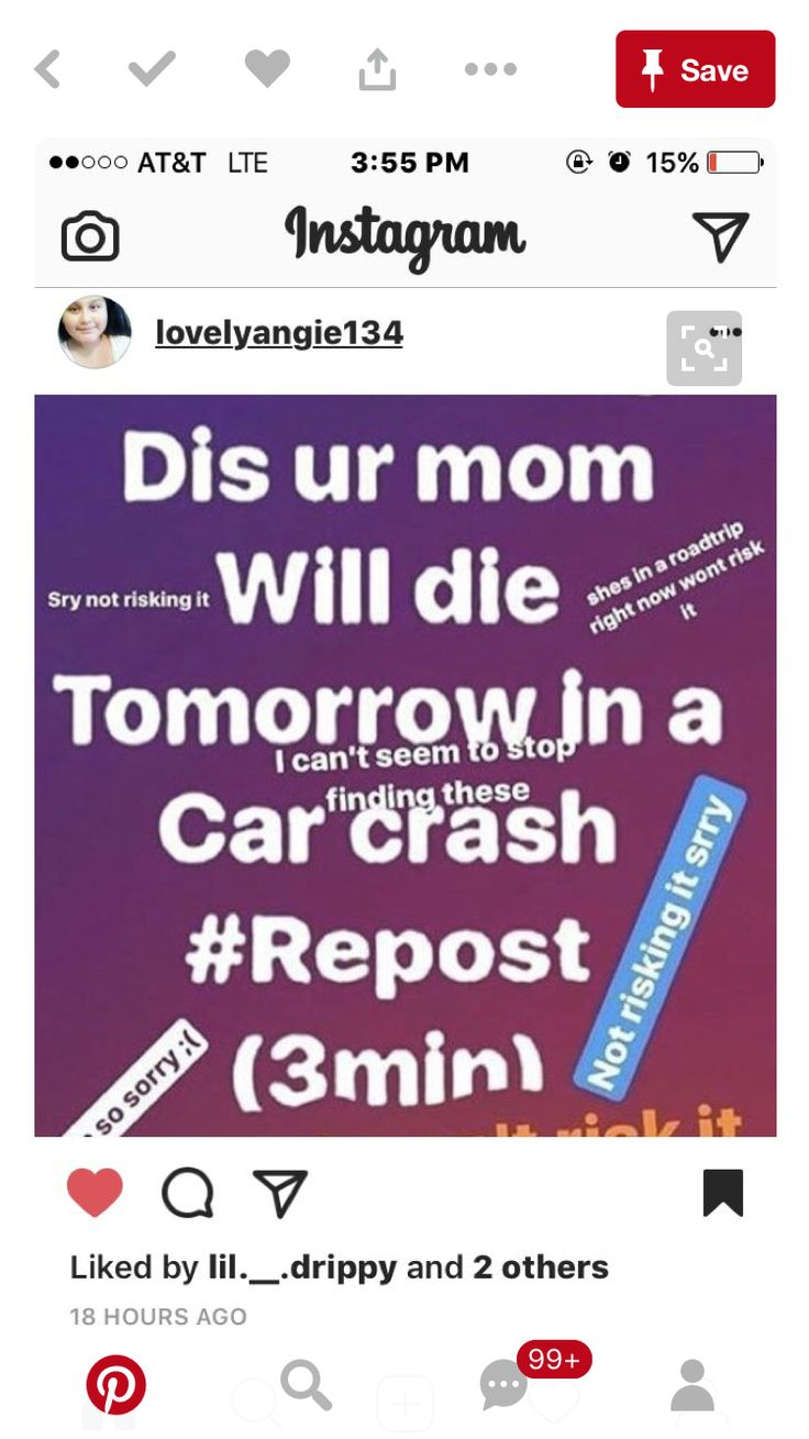 OMG!! I CANT STAND THESE! STOP SCARING PEOPLE INTO REPOSTING YOUR LIES!!😡😡