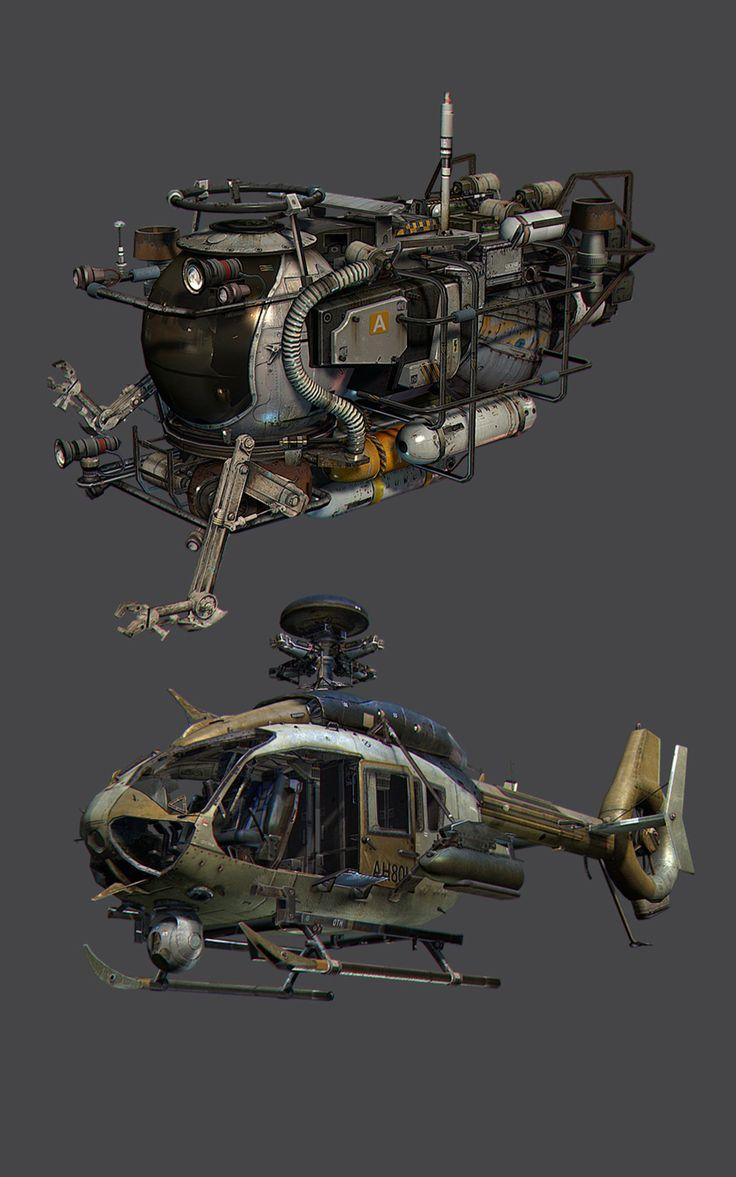 "ArtStation - ""Call of Duty: Ghosts"" Vehicles, Taehoon OH"