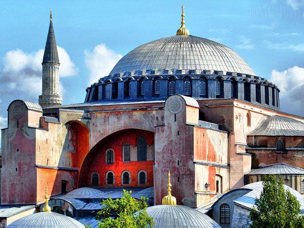 Hagia Sophia  by TheTurkeyTours.com