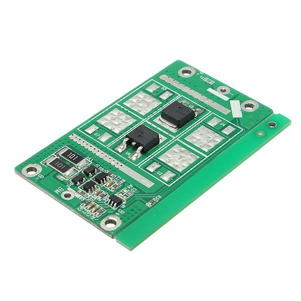 15A 8.4VDC BMS 2 Series 18650 Li-ion Lithium Battery Charging Protection Board With Balance Function  15A 8.4V DC BMS 2 Series 18650 Li-ion Lithium Battery Charging Protection Board With Balance Function Feature: 1. Built-in high precision voltage detection circuit. 2. Connect to the charger terminals which using high pressure device. 3. Built-in three over current detection circuit (1 over current 2 over current load short circuit) 4. Low standby current consumption. 5. Properties of the…
