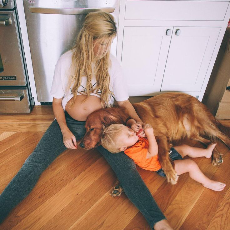 Amber Fillerup Clark: This has been the scene at our place last couple days. Messy house and snuggles. Teething is rough but look at them!? Anytime Chauncey lays down Atticus comes and snuggles right in.. ITS SO FREAKING CUTE I CANT HANDLE IT