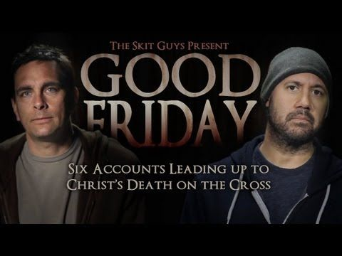 Download this video at http://skitguys.com/videos/item/good-friday    A dramatic retelling of Jesus' last day. Hear from six individuals who were close to Jesus before his death on the cross, Good Friday. This video sets the stage for Christ's resurrection and shows God's forgiveness and love for mankind.    The purchased package includes four v...