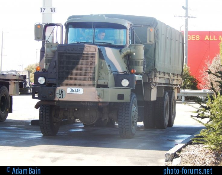 Australian Defence Force MACK R6x6 Cargo Military Truck