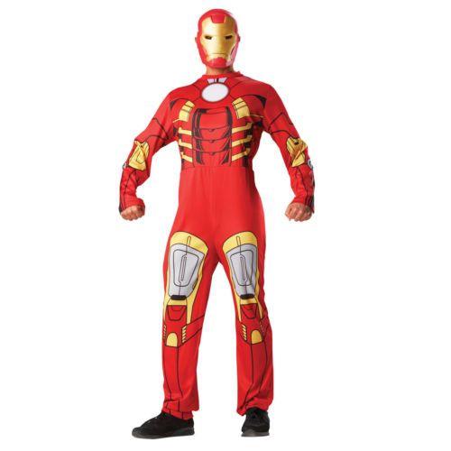Para-Hombre-Marvel-Avengers-Disfraz-Oficial-adultos-con-licencia-Superheroe-Fiesta-De-Disfraces