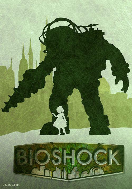 #Bioshock #Illustration #Minimalist #Poster