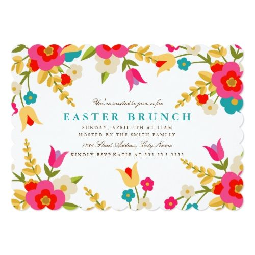 Best 25 Easter invitations ideas – Easter Invitation Cards