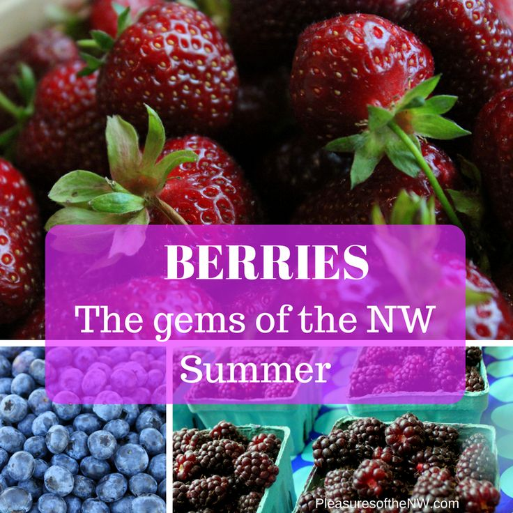 Strawberry season is starting to wind down, but I noticed raspberries last time I stopped in the berry farm!  And they said blueberries were just about ready.  As those of us that live in Oregon know, the blackberries are soon … Continue reading →