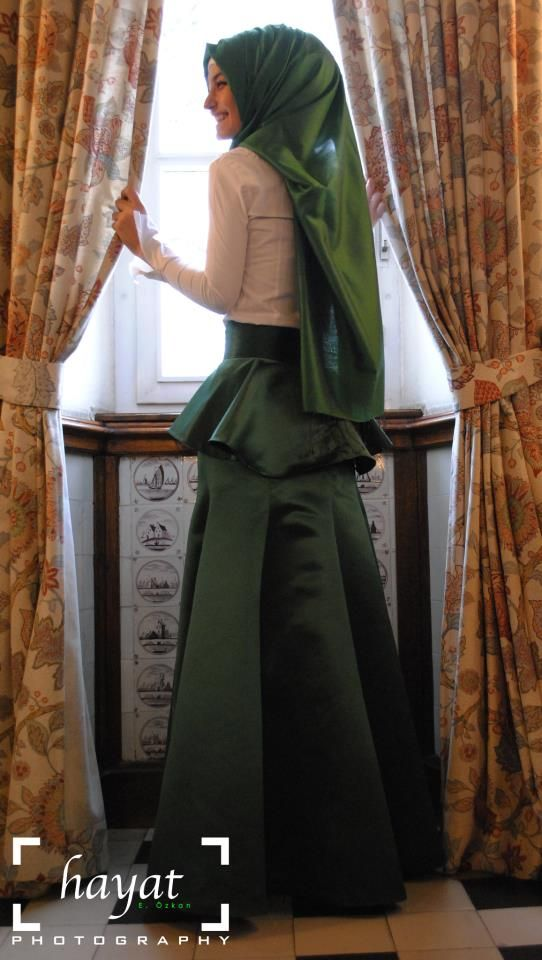 Gorgeous hijab style