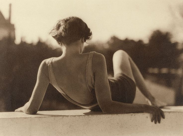 Reclining girl, France, ca. 1930s
