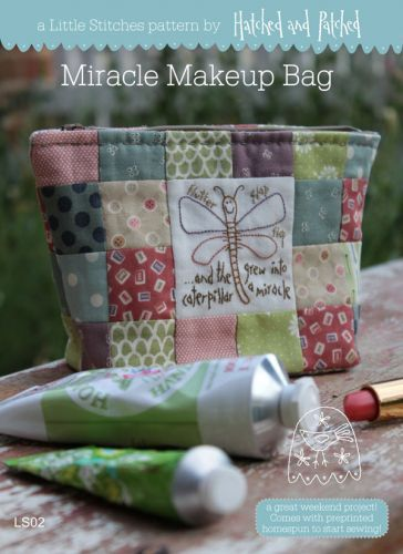 Miracle Makeup Bag - Hatched and Patched