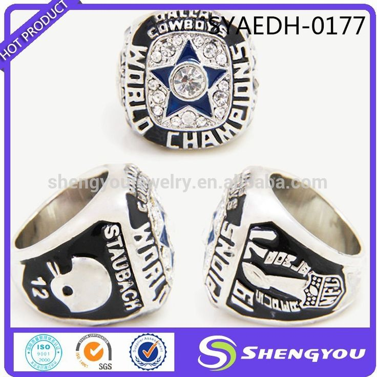 One Star 1971 Dallas Cowboys NFL Championship Ring Newest Boys Rings Fashion