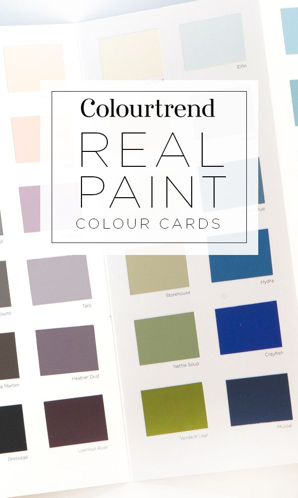 Our real Colourtrend paint colour cards are the perfect way to combine colours to create an atmosphere. From stunning to subtle, classic to contemporary – our colours will inspire you to express your flair and creativity.  Discover how to get your free colour cards here
