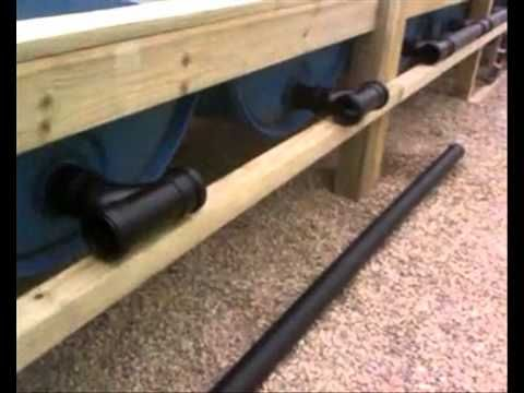 Aquaponics, Simplified Plumbing design.  I've never seen such a simple and elegant way of setting up the and and flow on an aquaponics system. Hope you enjoy the video.